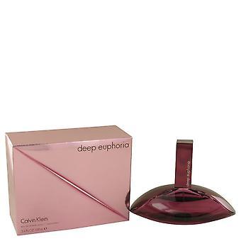 Deep Euphoria Eau De Toilette Spray di Calvin Klein 538948 100 ml