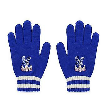 Crystal Palace FC Official Adults Unisex Knitted Gloves