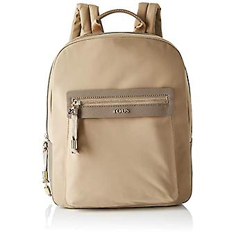 TousBrunock ChainDonnaBorsa backpackBeige (Topo 695810088)26x33x9.5 centimeters (W x H x L)