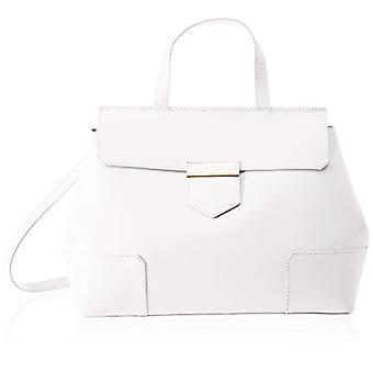 Chicca Bags 8697 White women's shoulder bag 38x29x18 cm (W x H x L)