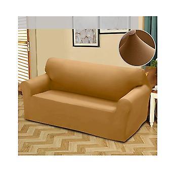 Enkel Fit stretch 4-seters sofa sofa Slipcover