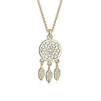 Elli Necklace with Women's Pendant in Silver 925 - Yellow Gold Plate