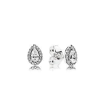 Pandora Silver Women's Stud Earrings - 296252CZ