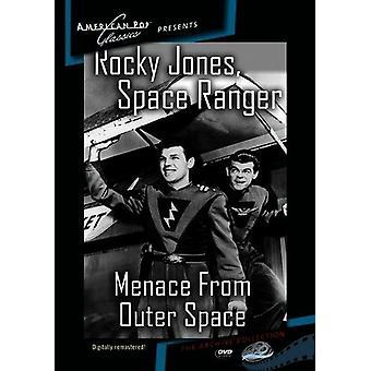 Rocky Jones Space Ranger: Trussel fra ydre rum [DVD] USA importerer