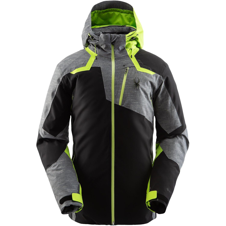 Spyder LEADER Herren Gore-Tex Primaloft Ski Jacke - schwarz