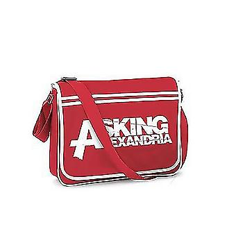 يسأل شعار الإسكندرية الرسمية الجديدة حقيبة رسول الرجعية الرجعية