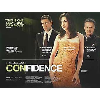Confidence Original Cinema Poster