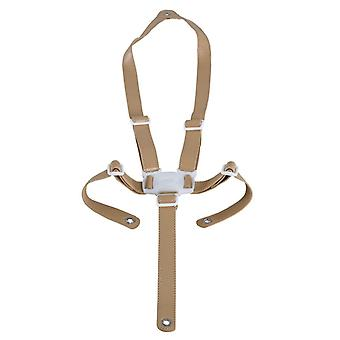 Micuna ovo - beige leatherette security straps