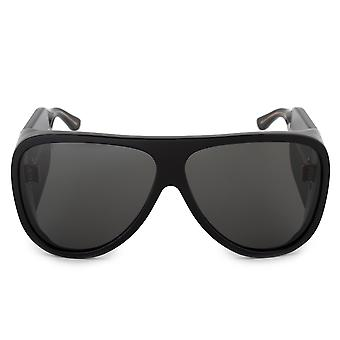 Gucci Oversized Aviator Sunglasses GG0149S 003 63