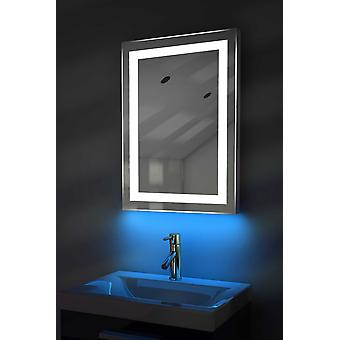Ambient Shaver LED Bathroom Mirror With Demister Pad & Sensor k160iw