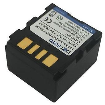Dot.Foto JVC BN-VF707, BN-VF707U erstatningsbatteriet - 7,2 v / 780mAh