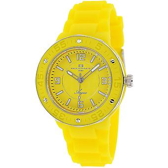 Oceanaut Women's Acqua Yellow Dial Watch - OC0213
