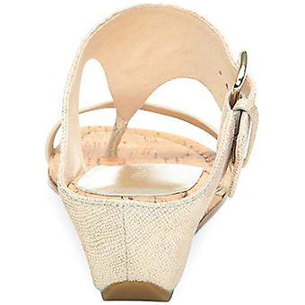 Donald J Pliner Womens Platino Open Toe Casual Slide Sandals