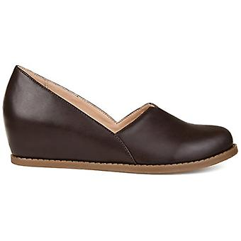 Brinley Co. Comfort Womens Wedge Loafers