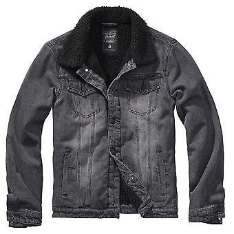 Brandit Men's Denim Jacket Sherpa