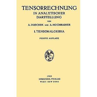 Grundz ge Der Tensorrechnung in Analytischer Darstellung  In Drei Teilen I. Teil Tensoralgebra by Adalbert Duschek & August Hochrainer