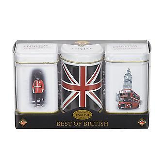 Best of british mini tea tin gift