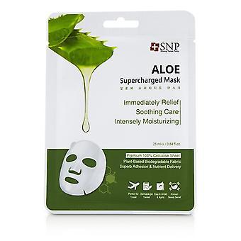 SNP Aloe turboladet Mask (fuktighet & amp; Beroligende) 846510-10x25ml/0.84 oz