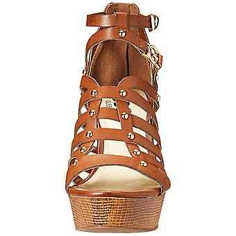 G by Guess Womens dezzie Fabric Open Toe Formal Strappy Sandals
