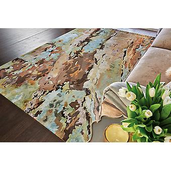 Prismatic PRS09 Multi  Rectangle Rugs Modern Rugs