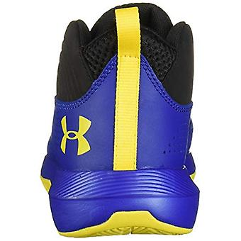 Under Armour Kids' Pre School Lockdown 4 Wide Basketball Schuh, Royal (400)/Bl...