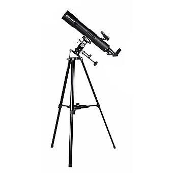 BRESSER Taurus 90/500 NG - Telescopio Lente con adattatore fotocamera per smartphone