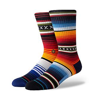 Stance Curren Crew Socks in Red