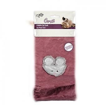 AFP Saco Crujiente Púrpura Crumples (Cats , Toys , Teaser Wands)
