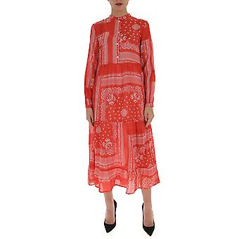Semi-couture Y0ss02fan20 Women's Red Viscose Dress