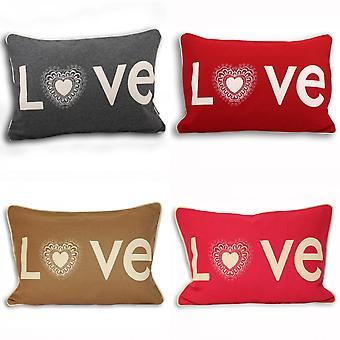 Kissenhülle aus Riva Hause Scandi Lovehearts