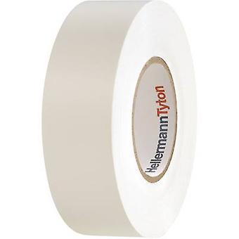HellermannTyton HelaTape Flex 15 710-00156 Elektrische tape HelaTape Flex 15 Wit (L x B) 20 m x 19 mm 1 st(en)
