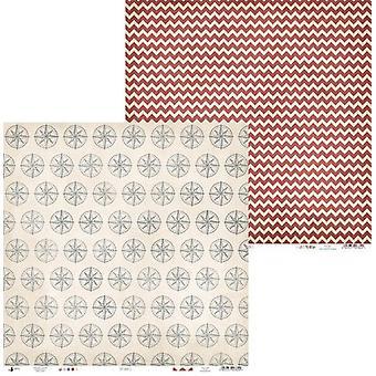 Piatek13 - Paper Off Shore II 04 P13-296 12x12