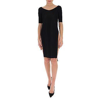 Gentry Portofino D511vig0009 Women's Black Viscose Dress