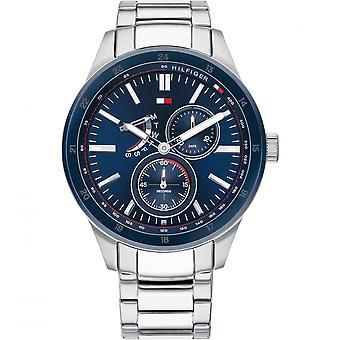 تومي هيلفيغر 1791640 Mens Silver سوار Wristwatch