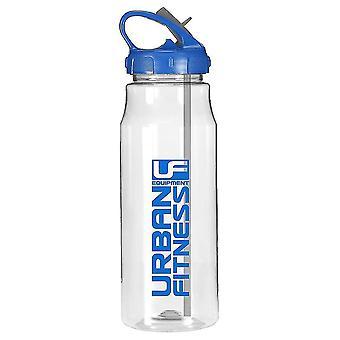 Urban Fitness Hydro wody Fitness Drink butelka Clear/niebieski 700ml