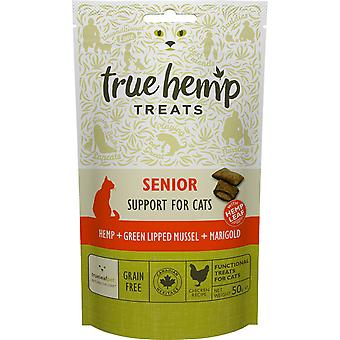 True Hemp Premios Senior (Cats , Treats , Dental Hygiene )