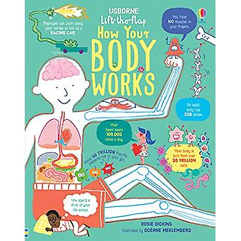 Lift-the-Flap How Your Body Works by Rosie Dickins - 9781474950732 Bo