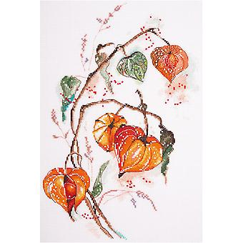 Panna Cross Stitch Kit : Physalis