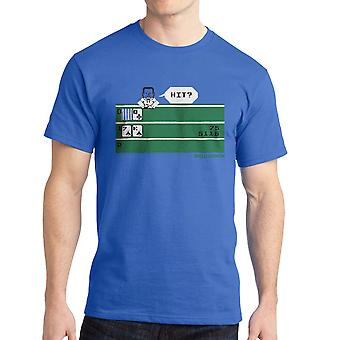 Intellivision Solitaire Hit? Game Men's Royal Blue T-shirt