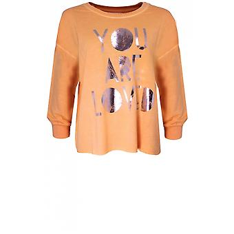 A Postcard from Brighton Loved Melba Jersey Sweatshirt