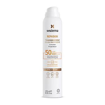 Spray Sun Protector Repaskin Corporal Sesderma Spf 50+ (200 ml)