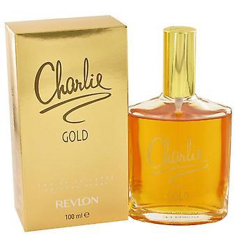 Charlie Gold Eau De Toilette Spray por Revlon 3,3 oz Eau De Toilette Spray