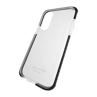 Cellularline Tetra Force Cover Apple iPhone XR Black (transparent)