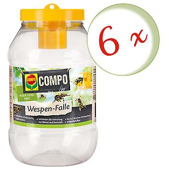 Sparset: 6 x COMPO Wasp Trap, 1 piece