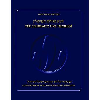 The Steinsaltz Five Megillot by Adin Steinsaltz - 9789657760413 Book