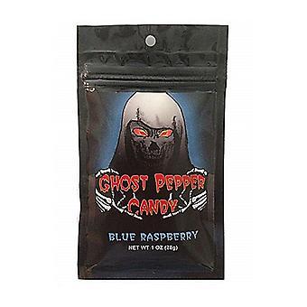Flamethrower Blue Raspberry Ghost Pepper Hard Candy