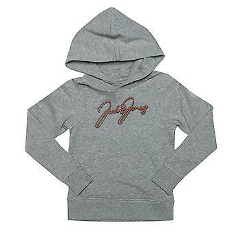 Boy's Jack Jones Junior Dusto Hoody en Grey