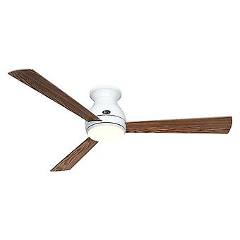 DC ceiling fan Eco Pallas WH 142 Oak / Walnut with LED