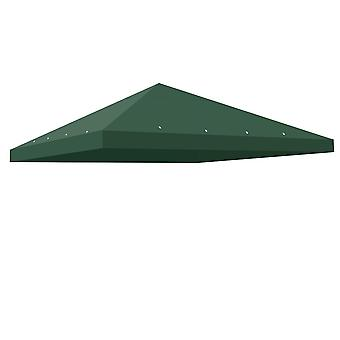 Yescom 10'x10' Gazebo Top Replacement for 1 Tier Outdoor Canopy Cover Patio Garden Yard Green Y0041004