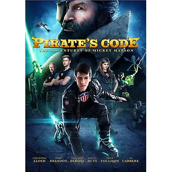 Adventures of Mickey Matson & the Pirate's Code [DVD] USA import